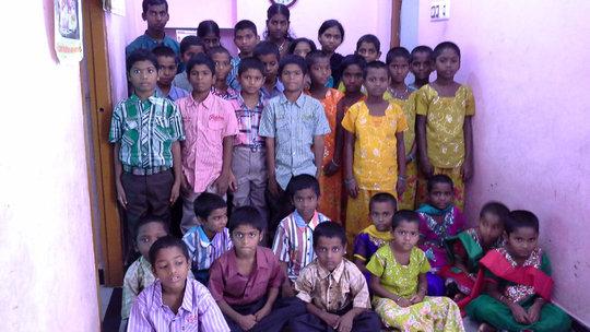Abandoned Orphan Children in Joy Home Children