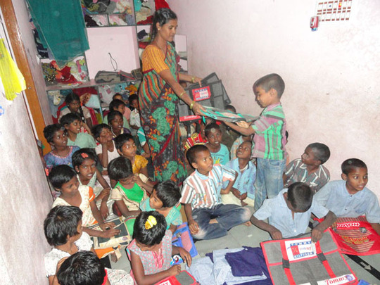 destitute orphan boy child need your support