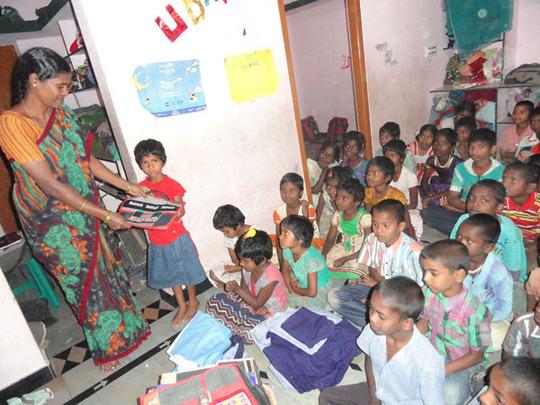 joy home orphanage children getting education