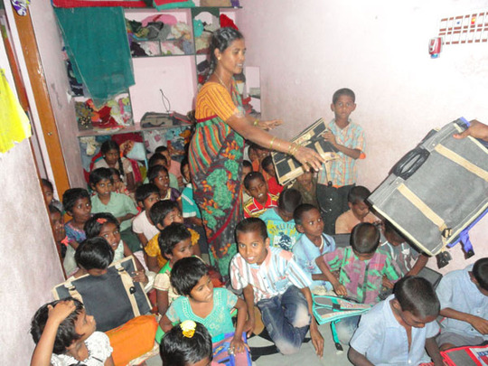 sponsoring school uniforms clothes to children