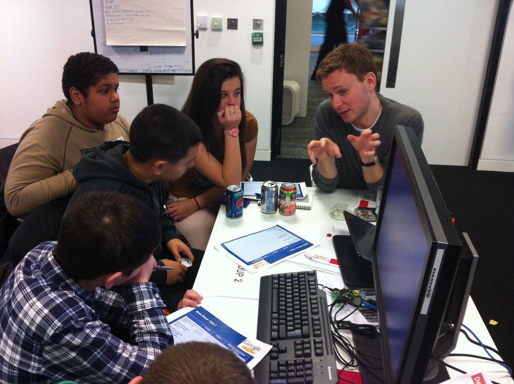 Coding skills for young ex-offenders
