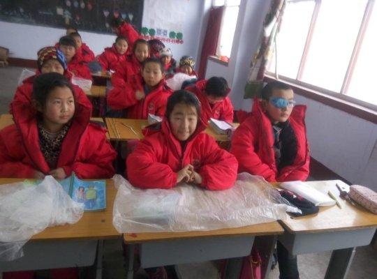 Students of Xishimen Elementary School