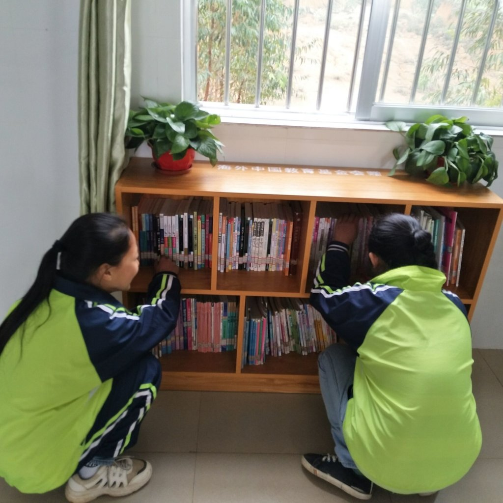 new reading corner in a classroom