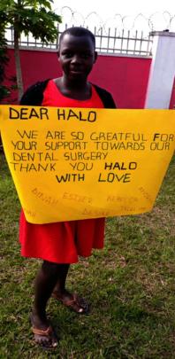 Thank you, HALO!