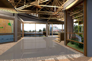 Welcome Center rendering