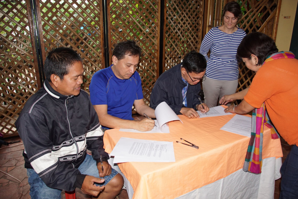 Deed of Donation - Signing