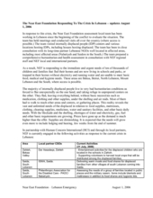 NEF_Responding_To_The_Crisis_In_Lebanon__updates_August_1_2006.pdf (PDF)