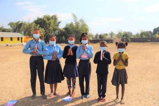 SGT girls in Udayapur sending their thanks to you