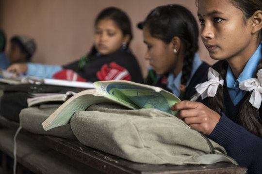 Keeping girls in school transforms communities