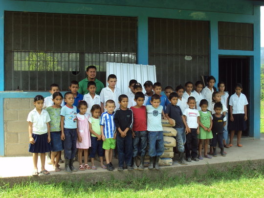 Children in Trojes, Honduras