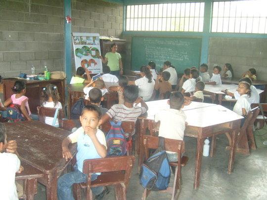 Children in Trojes, Honduras