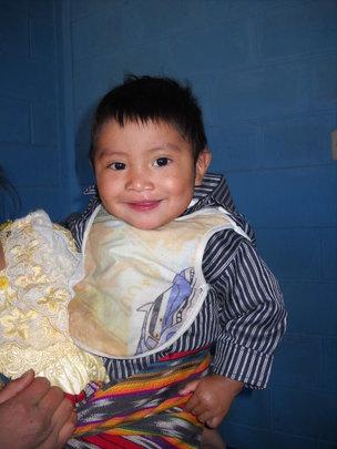 Leonel at age 2