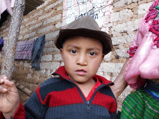 Leonel at age 5