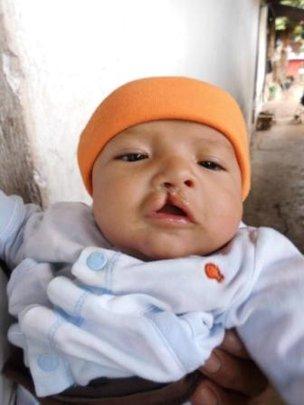 Gregorio at 4 months