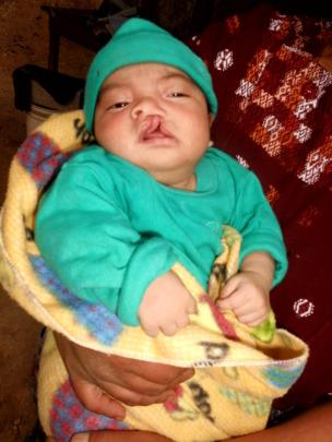 Darwin shortly after birth