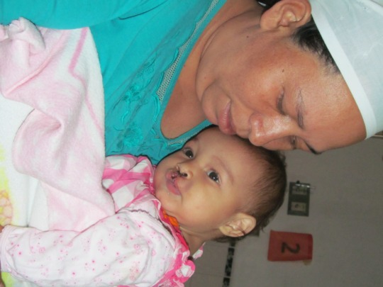 Ruth and Mother After Surgery