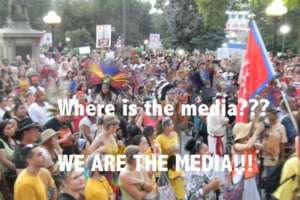 We are the media!