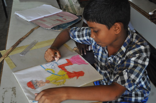 Enhance lives of tribal children with writing