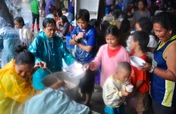 Relief for 180 Flood Affected Families in Manila