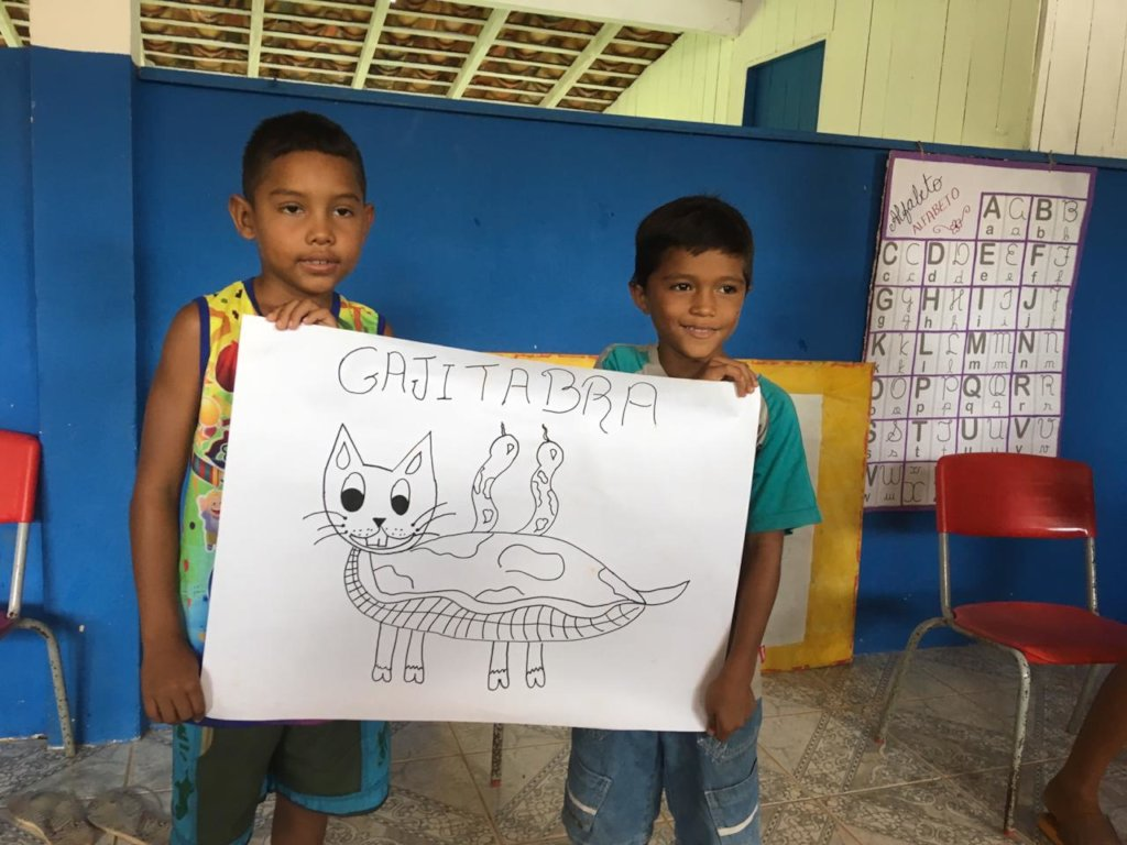 Drawing made by children