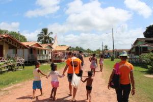 Community Caju Una, where Andre was born.
