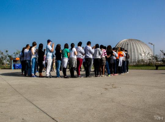 Participants at Villa Lobos Park