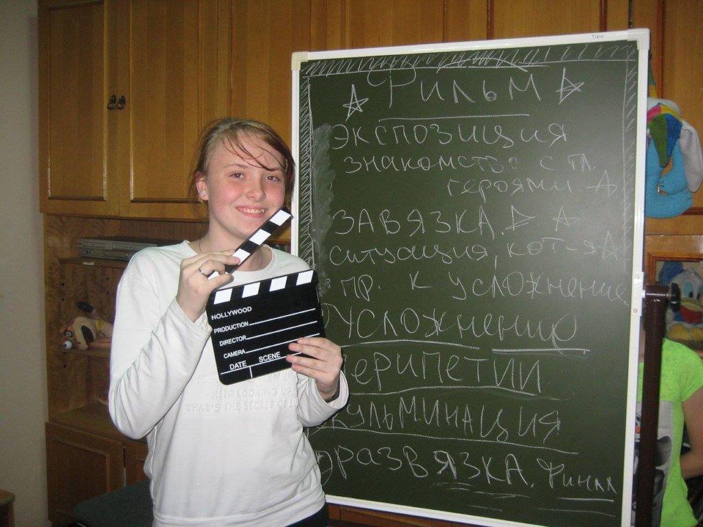 making a movie!