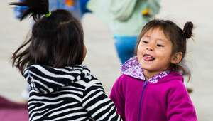 Smiles at the Daycare Center