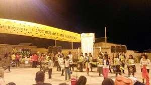 A drummes band