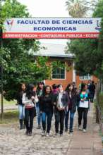 Three of our girls study finance and economics