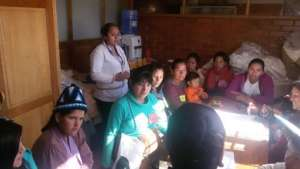 Working with the teenage and new mothers