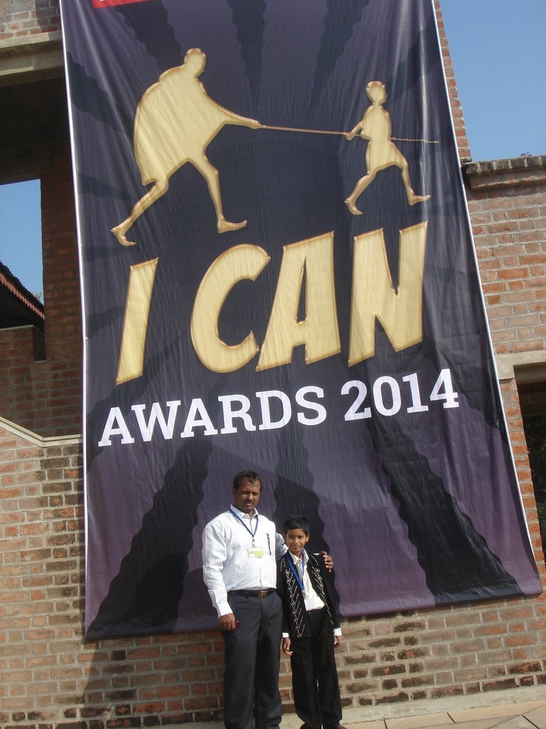 Our Project wins the I Can Awards