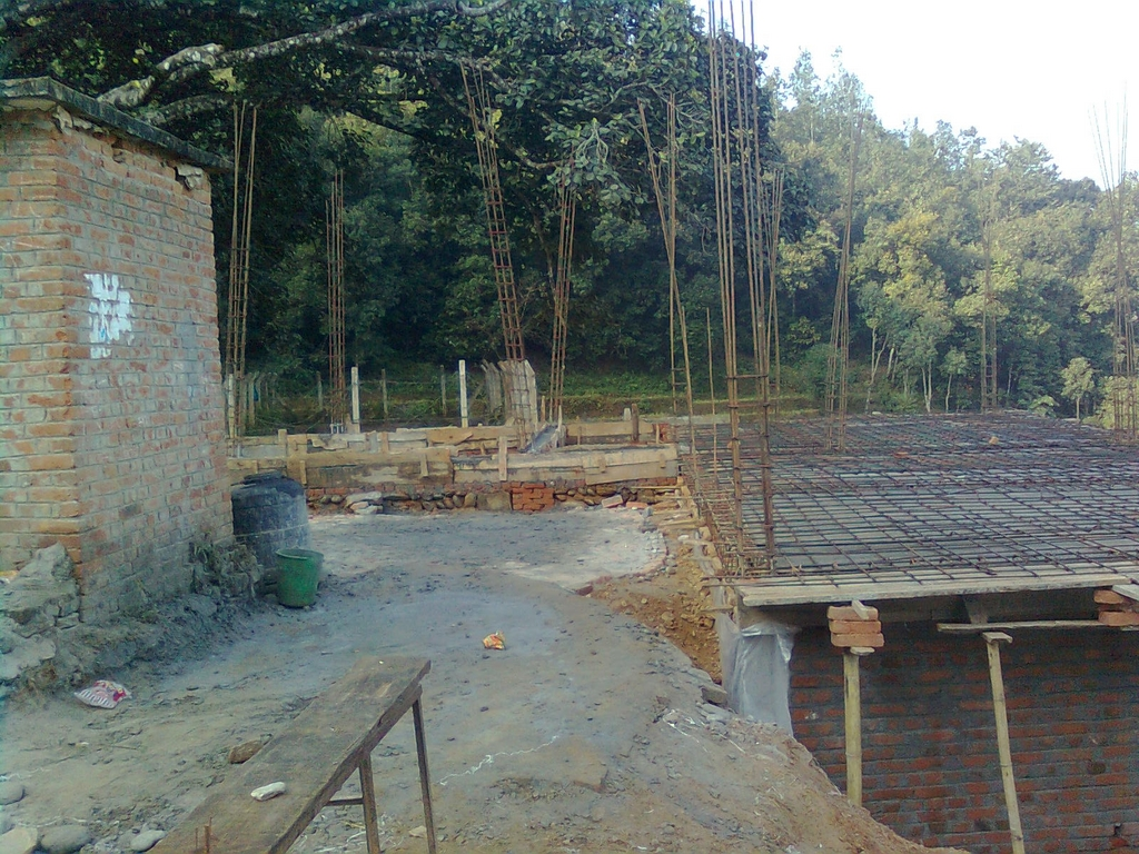 constructing Vindabasini school