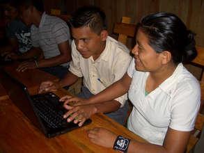 Learning computer skills