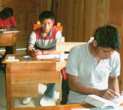 Library for Mayan High School Students