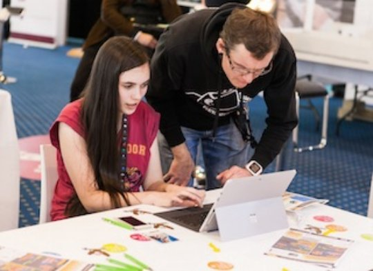 Young coders in Luxembourg