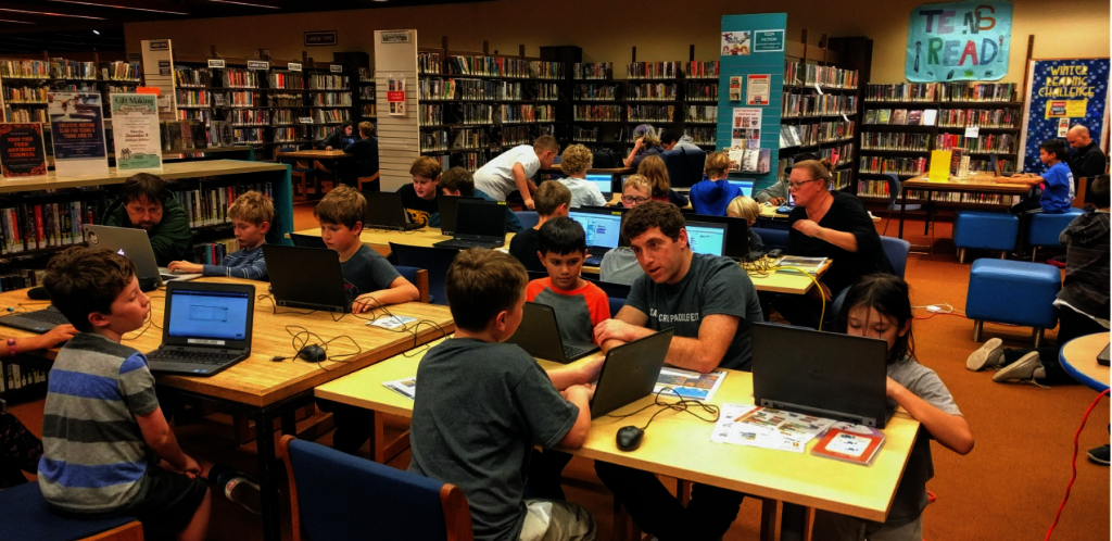 A CoderDojo in a Library