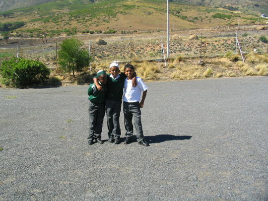 Rahmaniyeh Primary School - new boundary fence