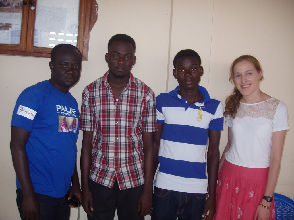 Gilbert with friends from PAAJAF and GlobalGiving