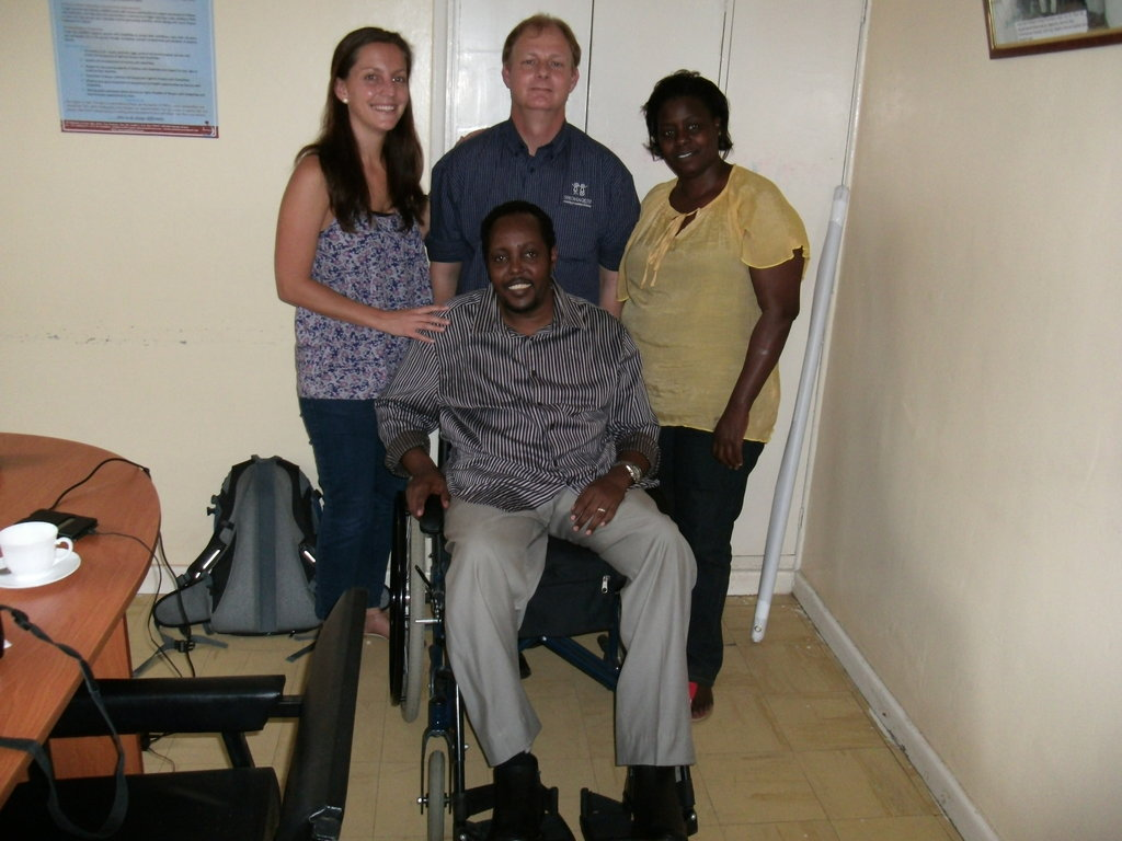 Launch a Wheelchair Center in Kenya