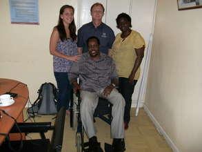 Launch a Wheelchair Center in Kenya