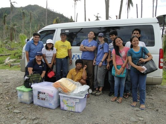 International Medical Corps Team in Leyte