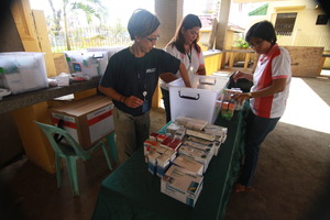 Unpacking Medical Supplies
