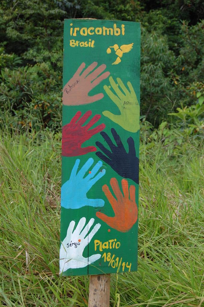 Many hands....