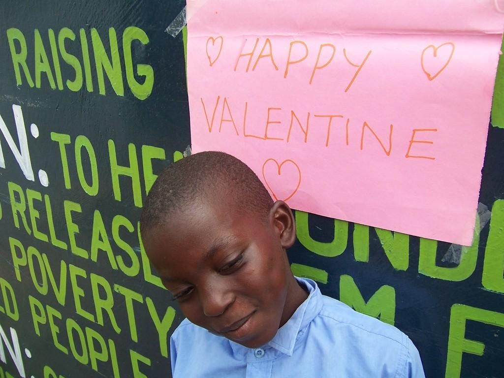 We wish you happy valentine!