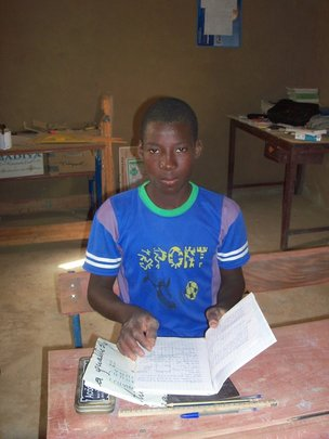 12yr old student from Tombouz School
