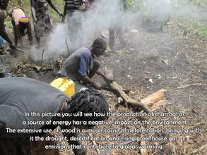 Current method of charcoal production