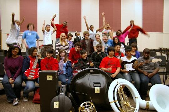 Renton High students in Renton WA thank you!