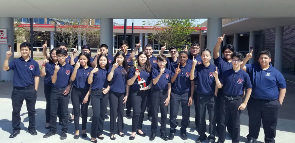 Fonville Band earned 1st Division Superior Ratings