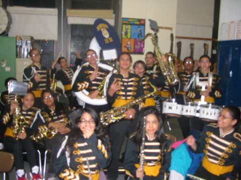 I.S. 52 Inwood Middle School Band in New York, NY